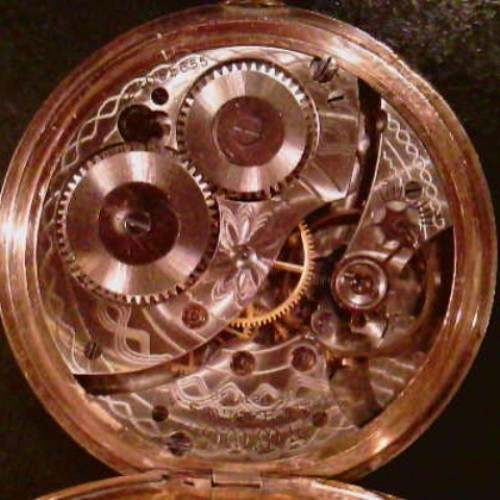 Waltham Grade No. 250 Pocket Watch Image