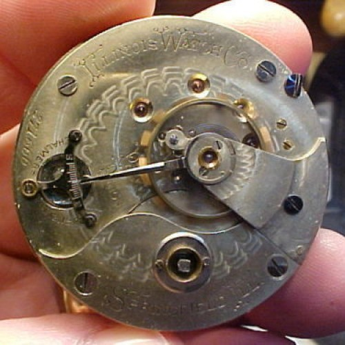 Illinois Grade 99 Pocket Watch Image