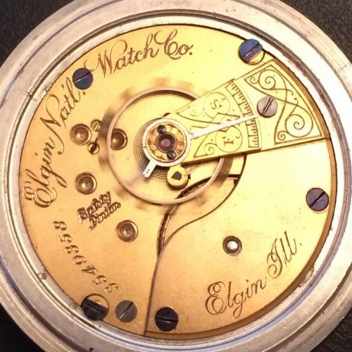 Elgin Grade 73 Pocket Watch Image