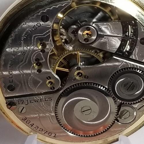 Elgin Grade 387 Pocket Watch Image