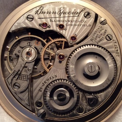 Image of Illinois Bunn Special #3845727 Movement