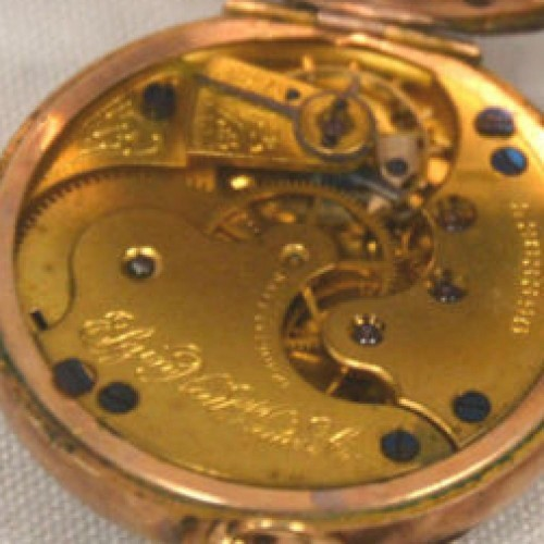 Elgin Grade 113 Pocket Watch Image