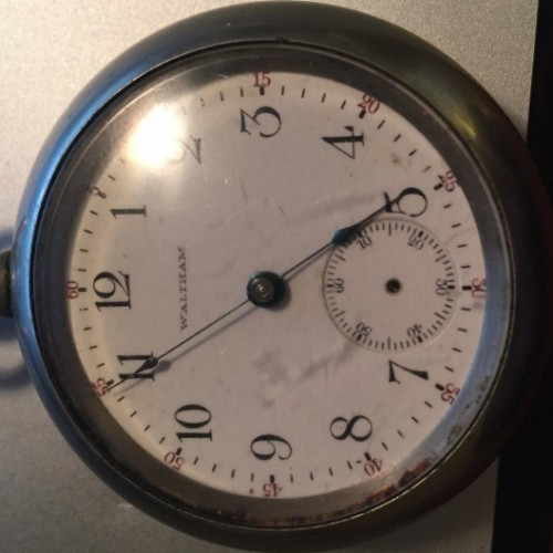 Image of Waltham No. 81 #13803210 Dial