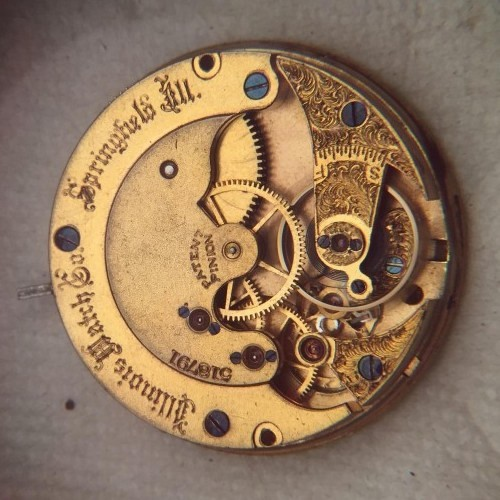 Illinois Grade 152 Pocket Watch Image