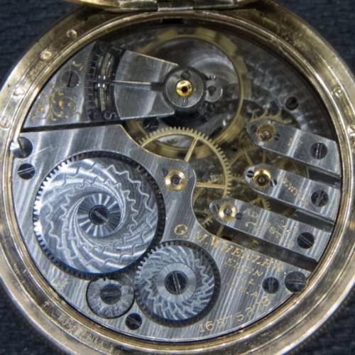 Elgin Grade 337 Pocket Watch Image