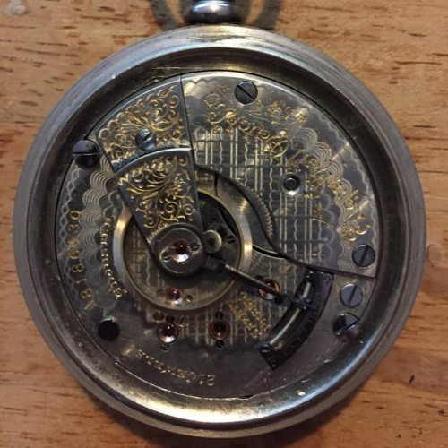 Elgin Grade 181 Pocket Watch Image
