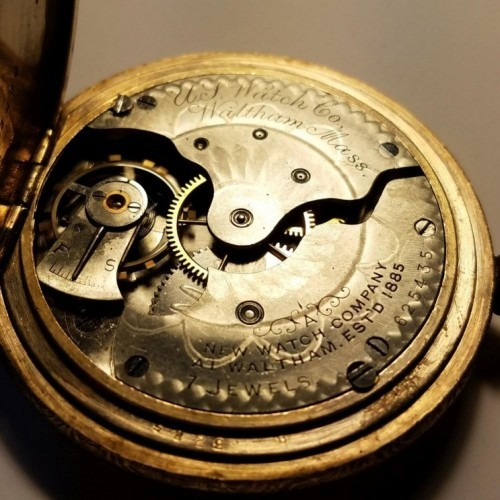 U.S. Watch Co. (Waltham, Mass) Grade  Pocket Watch Image