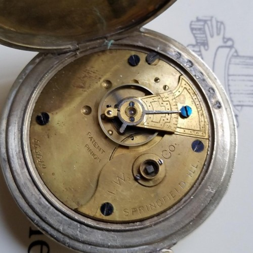 Illinois Grade I.W.C. Pocket Watch
