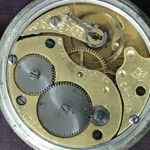 Howard Davis & Dennison Grade star   s Pocket Watch Image