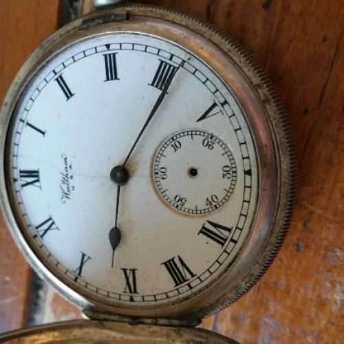 Waltham Grade Riverside Pocket Watch Image