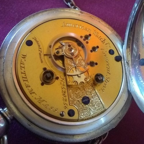American Watch Co. Grade Crescent St. Pocket Watch Image