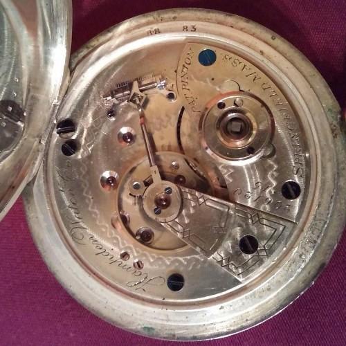 Hampden Grade No. 40 Pocket Watch Image