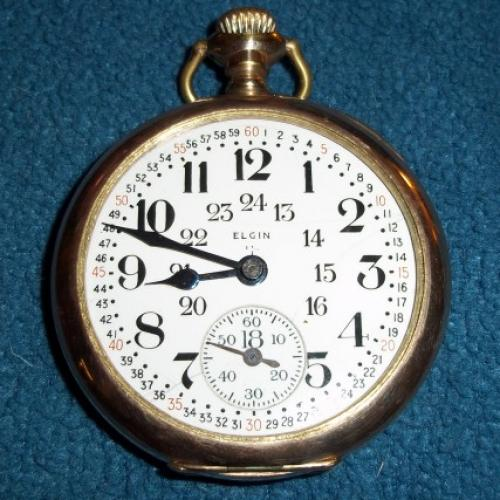 Elgin Grade 388 Pocket Watch Image