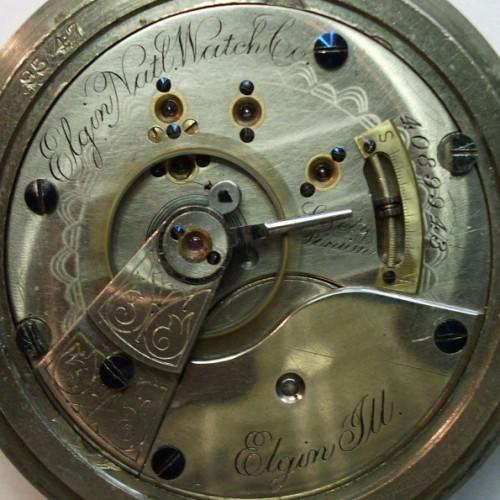 Elgin Grade 103 Pocket Watch Image