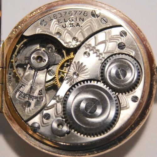 Elgin Grade 403 Pocket Watch Image
