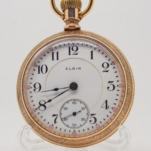 Elgin Grade 180 Pocket Watch Image