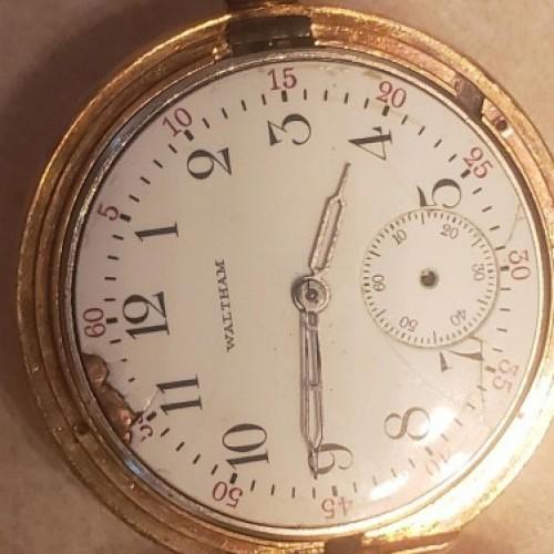 Waltham Grade No. 361 Pocket Watch Image