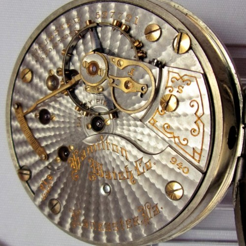 Image of Hamilton 940 #527721 Movement