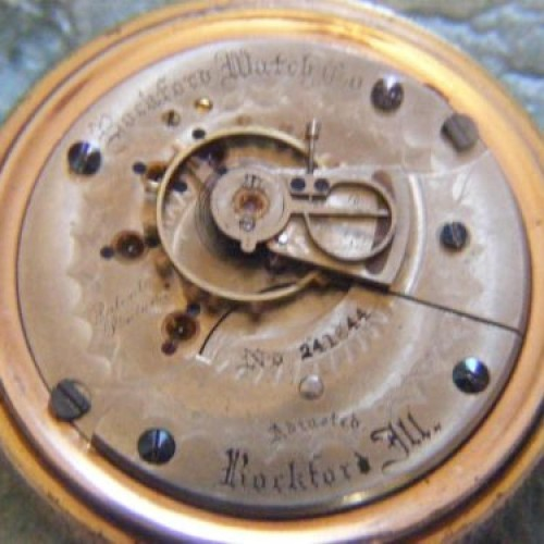 Rockford Grade 47 Pocket Watch Image
