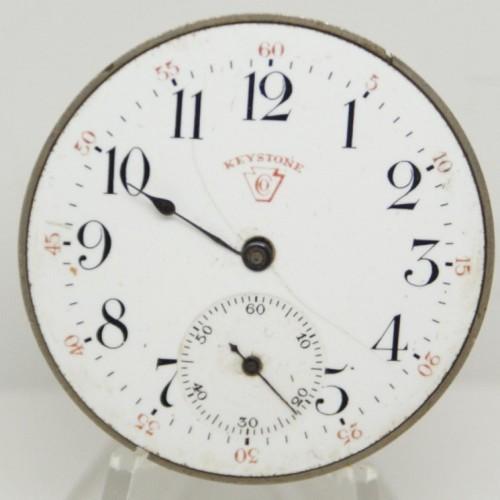 Keystone Watch Case Co. Grade  Pocket Watch Image