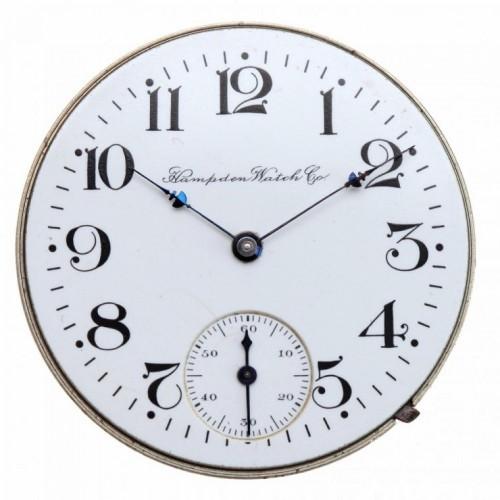 Hampden Grade No. 105 NR (in flag) Pocket Watch Image