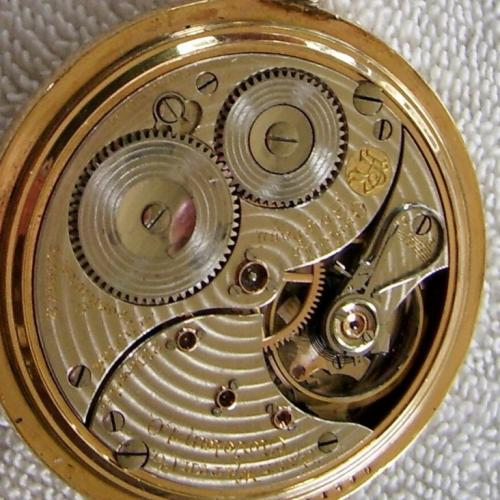 Ball - Waltham Grade Official Standard Pocket Watch Image