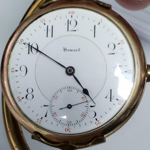 E. Howard Watch Co. (Keystone) Grade Series 0 Pocket Watch Image