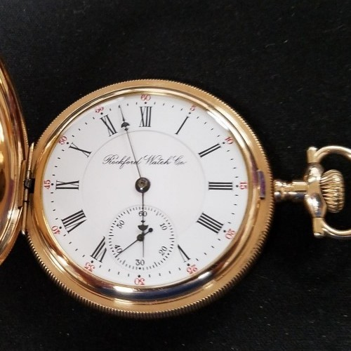 Rockford Grade 640 Pocket Watch Image