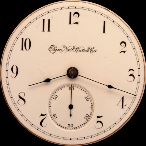 Elgin Grade 100 Pocket Watch Image