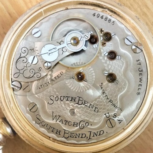 South Bend Grade 341 Pocket Watch Image