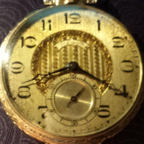 Illinois Grade Autocrat Pocket Watch Image