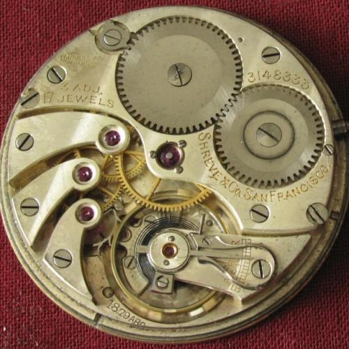 Longines Grade 17.89 Pocket Watch Image