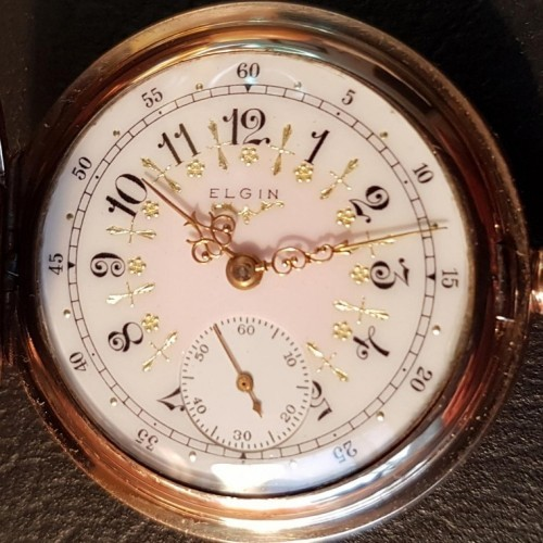 Elgin Grade 263 Pocket Watch Image