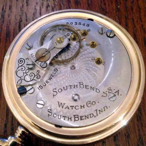 South Bend Grade 331 Pocket Watch Image