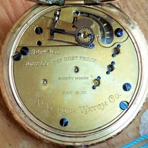 Image of Keystone Standard Watch Co.  #368859 Movement