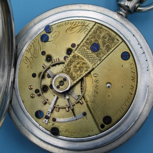 Waltham Grade W.W.Co. Pocket Watch Image