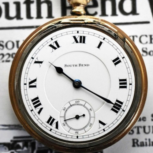 South Bend Grade 215 Pocket Watch Image