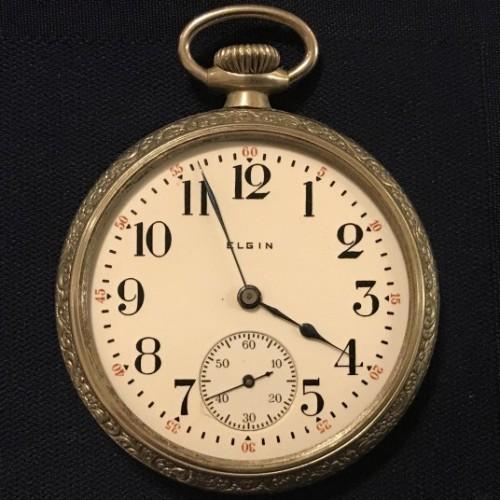 Elgin Grade 158 Pocket Watch Image