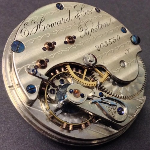 E. Howard & Co. Grade Series VII Pocket Watch Image