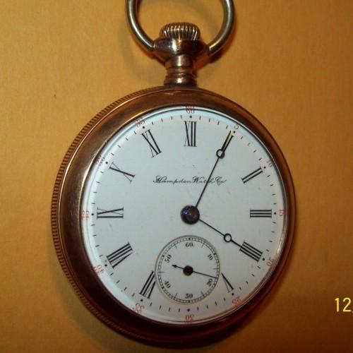 Hampden Grade Unknown Pocket Watch Image