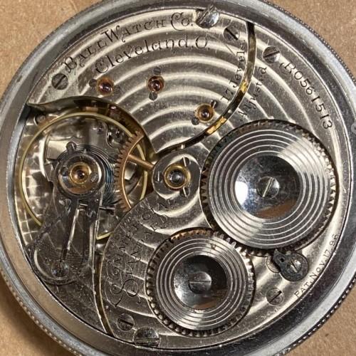 Ball - Waltham Grade Commercial Standard Pocket Watch Image