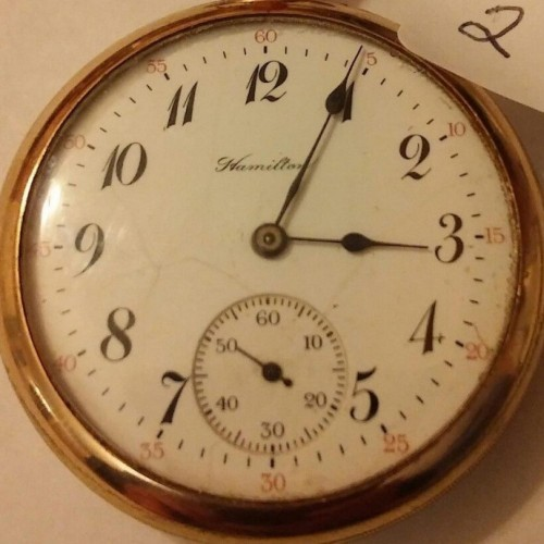 Hamilton Grade 956 Pocket Watch Image