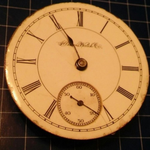 Illinois Grade 2 Pocket Watch Image