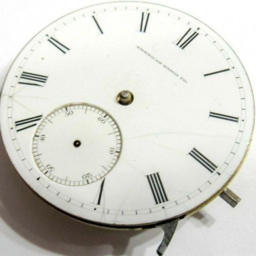 Waltham Grade Park Road Pocket Watch Image