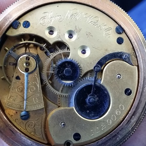 Elgin Grade 93 Pocket Watch