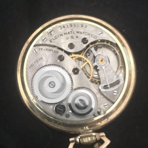Elgin Grade 495 Pocket Watch Image