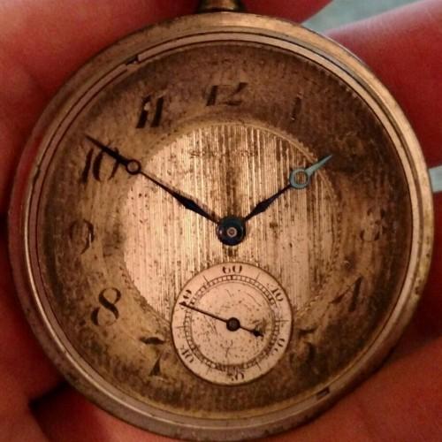 New York Standard Watch Co. Grade 1573 Pocket Watch Image