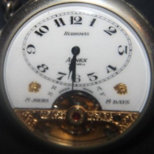 Hebdomas Grade 8  Day Pocket Watch Image