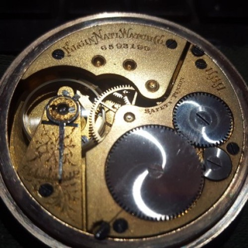 Elgin Grade 151 Pocket Watch Image