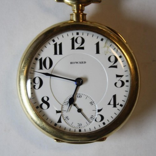 E. Howard & Co. Grade Series 0 Pocket Watch Image